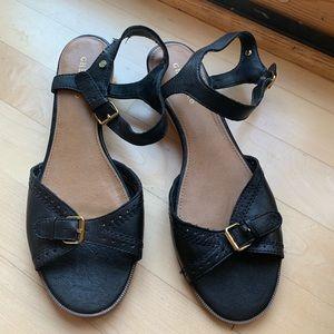 G. H. Bass black sandals
